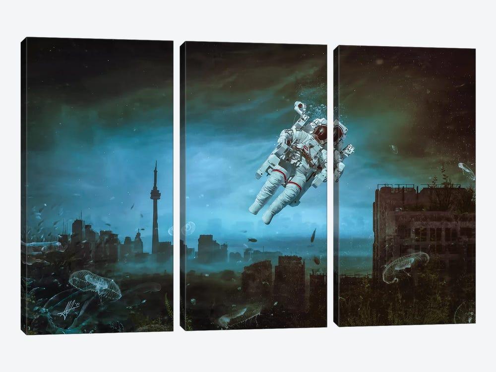 Sometimes by Mario Sanchez Nevado 3-piece Canvas Art