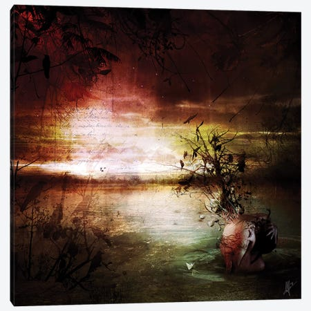 Alone Canvas Print #MSN7} by Mario Sanchez Nevado Canvas Wall Art