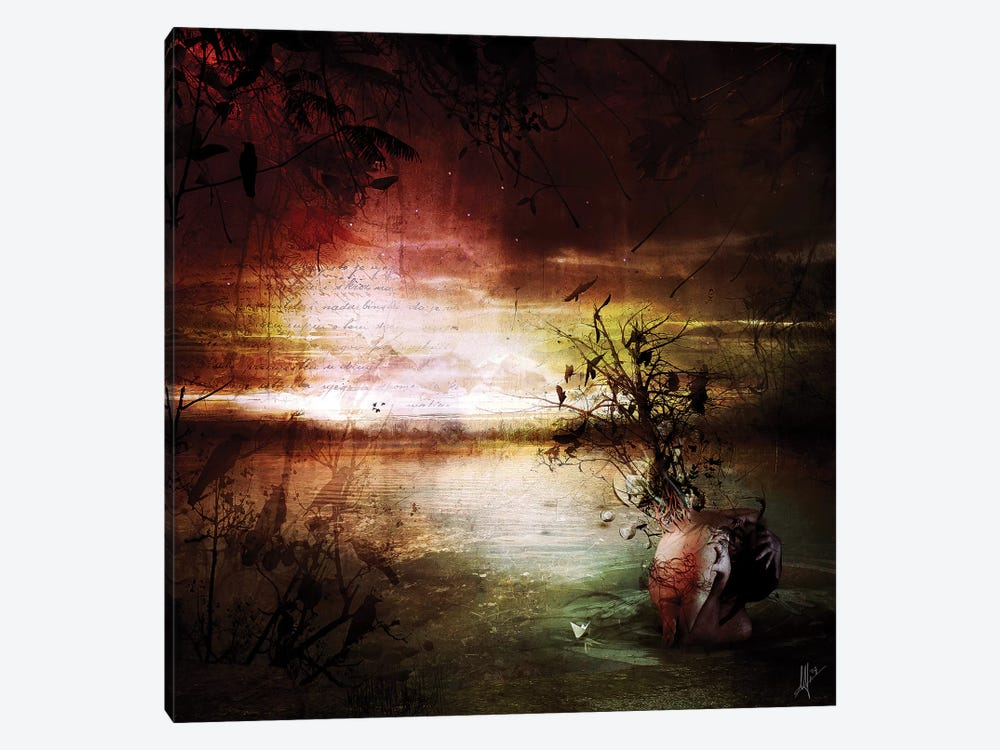 Alone by Mario Sanchez Nevado 1-piece Canvas Artwork