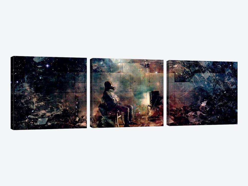 The Noble Lie by Mario Sanchez Nevado 3-piece Canvas Art