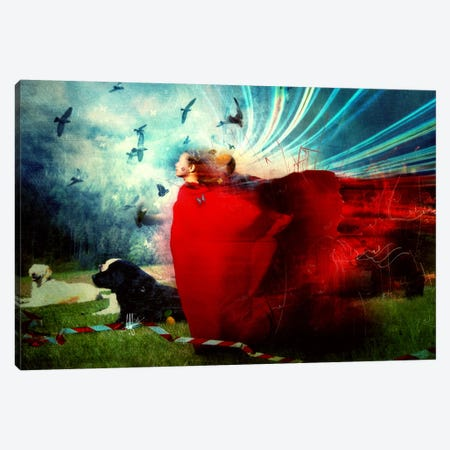 The Strange Blind Sensation Canvas Print #MSN87} by Mario Sanchez Nevado Canvas Wall Art
