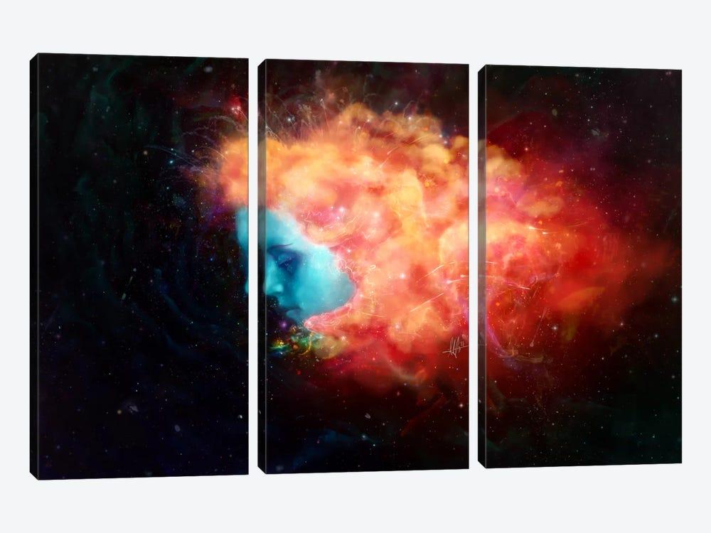 Trance by Mario Sanchez Nevado 3-piece Art Print