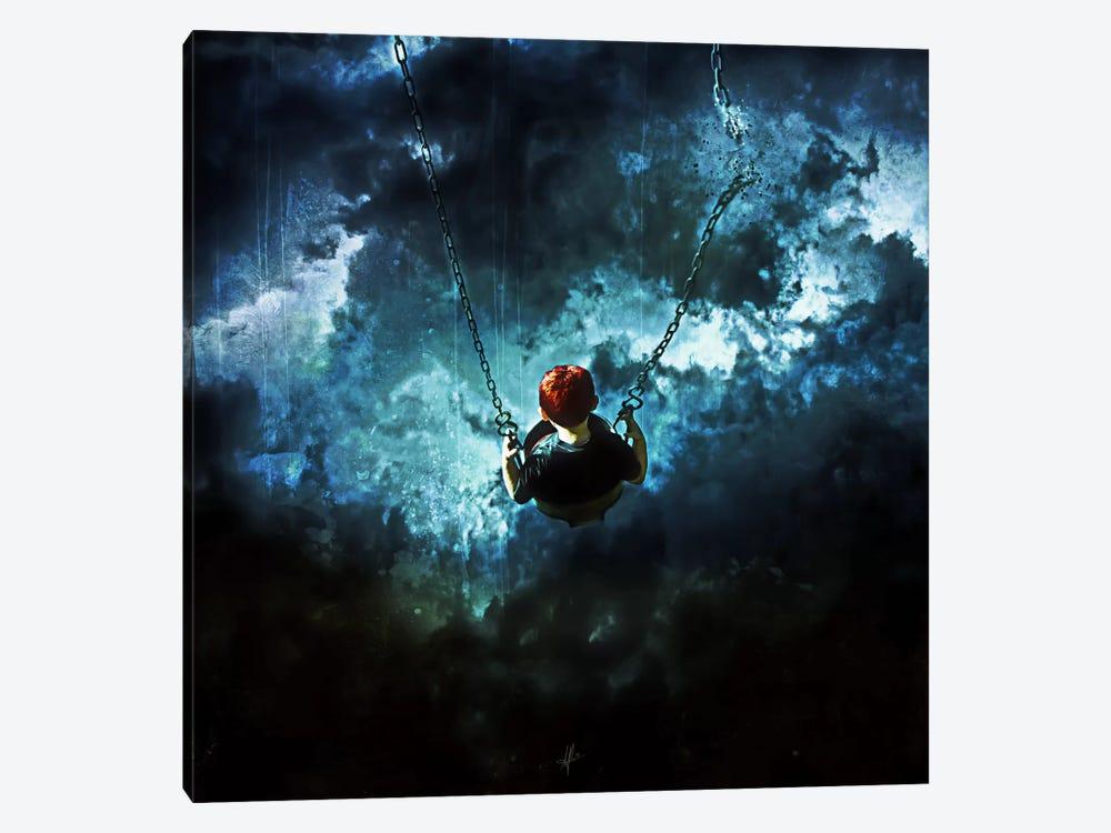Travel Is Dangerous by Mario Sanchez Nevado 1-piece Canvas Print