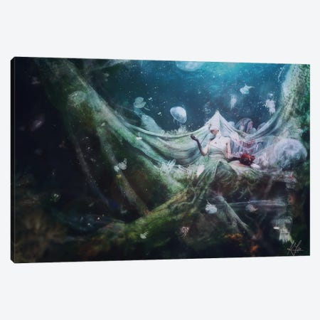 Unravel Canvas Print #MSN92} by Mario Sanchez Nevado Canvas Art