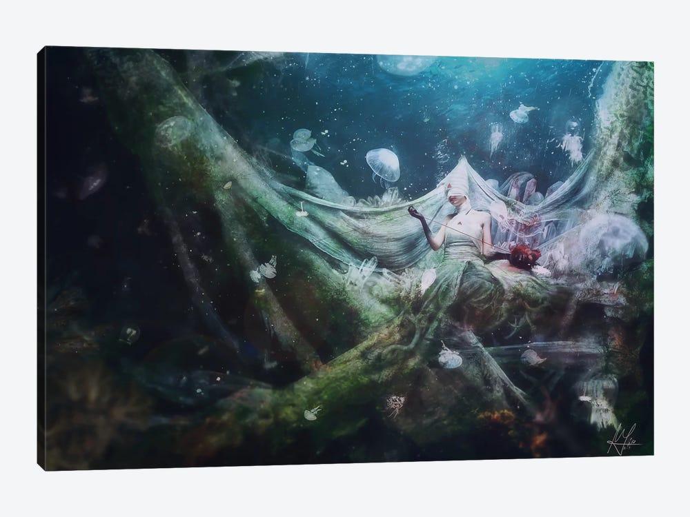 Unravel by Mario Sanchez Nevado 1-piece Canvas Art Print
