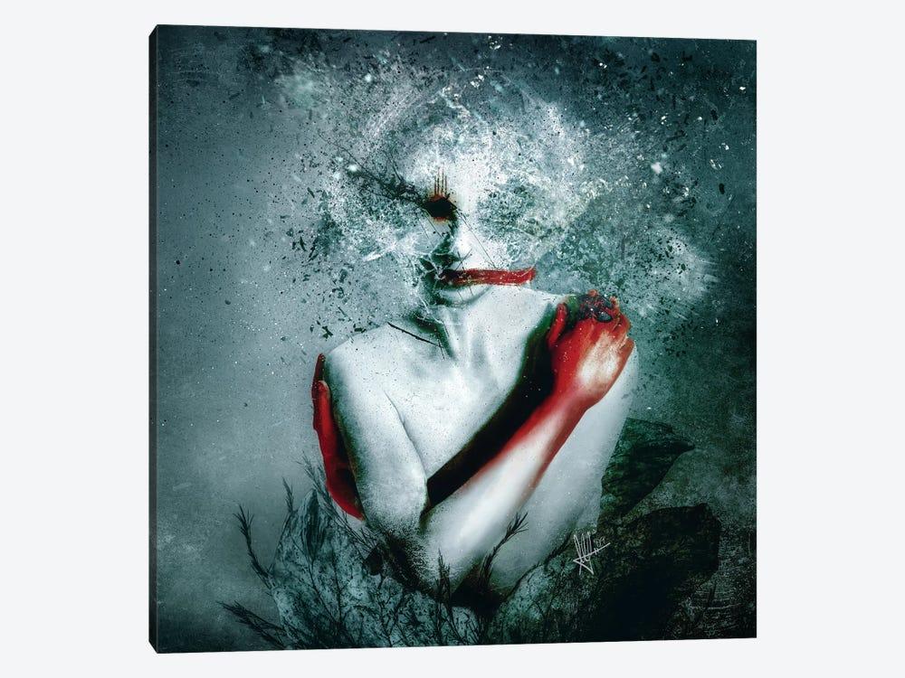 (Blooming) Protection by Mario Sanchez Nevado 1-piece Canvas Art