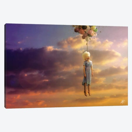Drifting On A Sad Song Canvas Print #MSN97} by Mario Sanchez Nevado Art Print