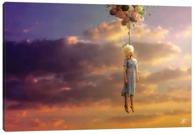 Drifting On A Sad Song Canvas Art Print