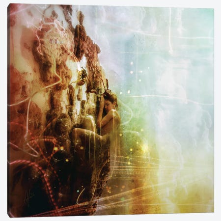 How To Disappear Completely Canvas Print #MSN98} by Mario Sanchez Nevado Canvas Art