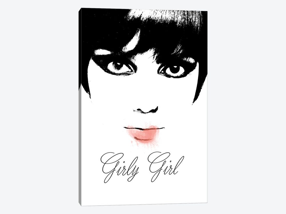 Girly Girl by Mindy Sommers 1-piece Canvas Art Print