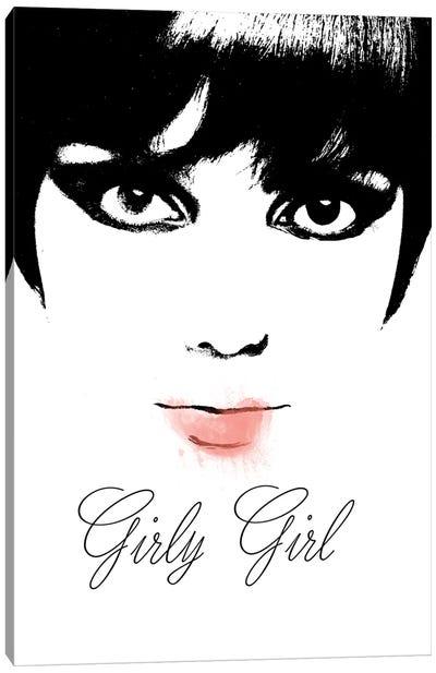 Girly Girl Canvas Art Print