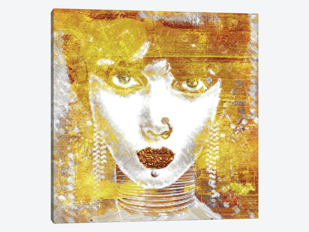 Gold Girl by Mindy Sommers 1-piece Canvas Wall Art
