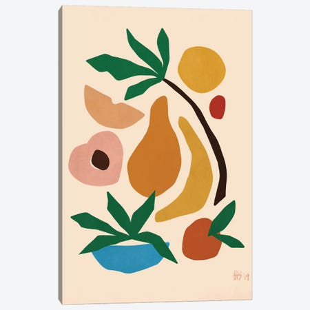 Fruit Salad Canvas Print #MSP12} by Maggie Stephenson Canvas Art