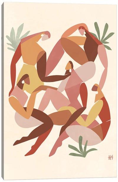 Girl Squad Canvas Art Print
