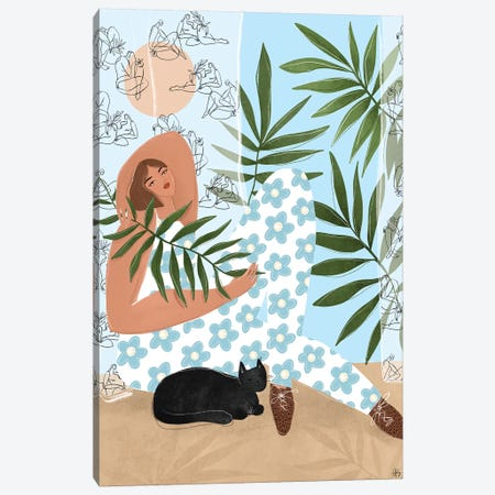 I Like To Relax Canvas Print #MSP17} by Maggie Stephenson Canvas Print