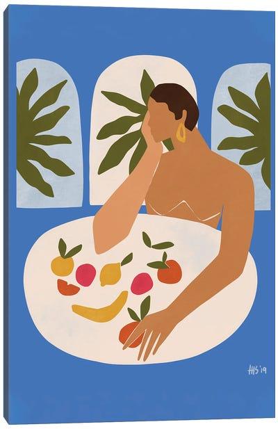 Afternoon Snacks Canvas Art Print