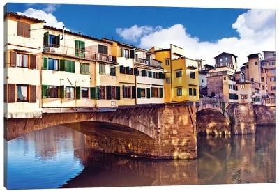 Ponte Vecchio, Florence, Tuscany Region, Italy Canvas Print #MST2