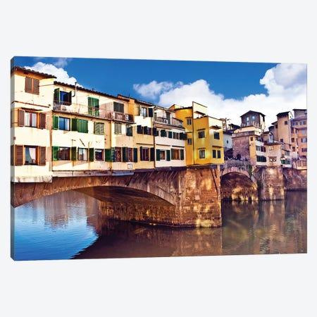 Ponte Vecchio, Florence, Tuscany Region, Italy Canvas Print #MST2} by Miva Stock Canvas Art
