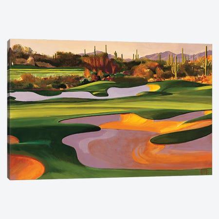 Arizona Golf Course Canvas Print #MSV23} by M & E Stoyanov Fine Art Studio Art Print
