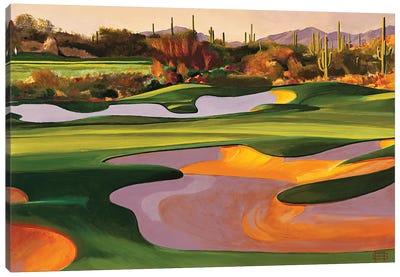 Arizona Golf Course Canvas Art Print