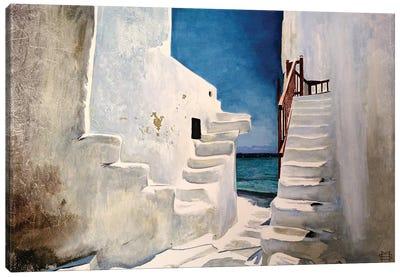 Greek Summer Canvas Art Print