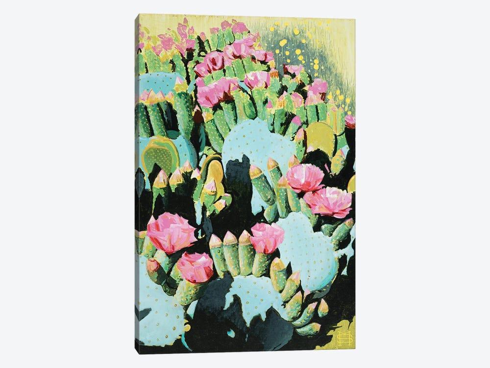 Prickly Pear Blooms by M & E Stoyanov Fine Art Studio 1-piece Canvas Art
