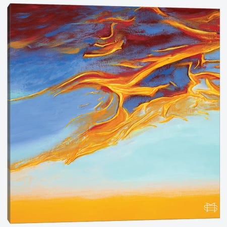 Carefree Sunset Canvas Print #MSV32} by M & E Stoyanov Fine Art Studio Canvas Art