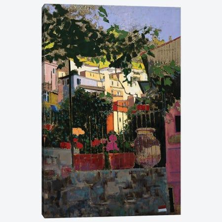 A Walk In Monterosso (Italy) Canvas Print #MSV51} by M & E Stoyanov Fine Art Studio Canvas Artwork