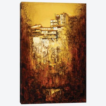 Rock Houses Canvas Print #MSV53} by M & E Stoyanov Fine Art Studio Canvas Wall Art