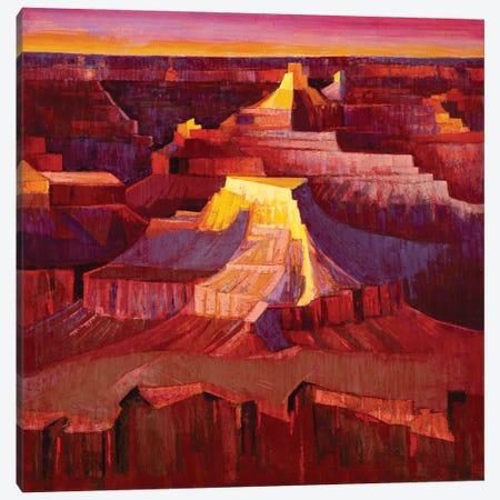 Grand Canyon Sunrise Canvas Print #MSV55} by M & E Stoyanov Fine Art Studio Canvas Print