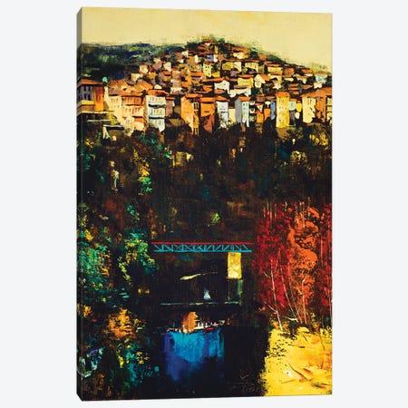 Magical Town Canvas Print #MSV65} by M & E Stoyanov Fine Art Studio Canvas Artwork