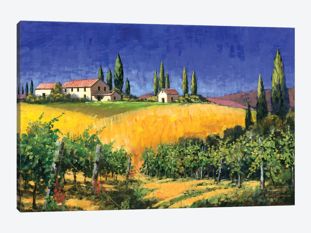 Tuscan Evening 1-piece Canvas Artwork
