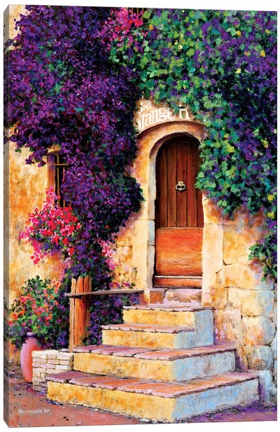 Le Grange Canvas Art Print