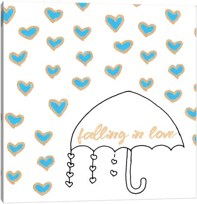 Falling In Love Canvas Art Print
