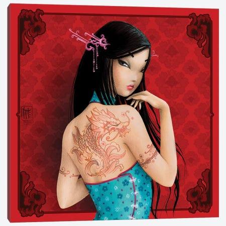 Chine Canvas Print #MTG13} by Misstigri Canvas Art
