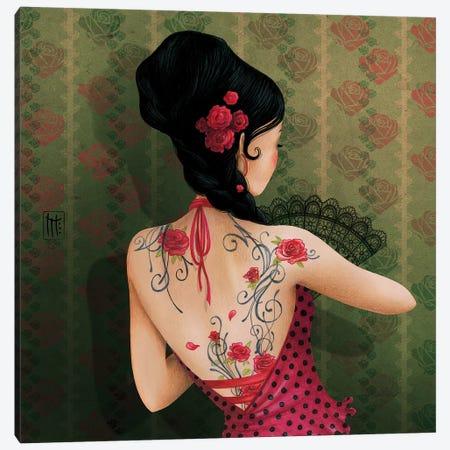 Espagne Canvas Print #MTG23} by Misstigri Canvas Art Print