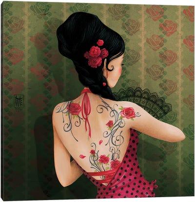 Espagne Canvas Art Print