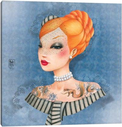 France Canvas Art Print