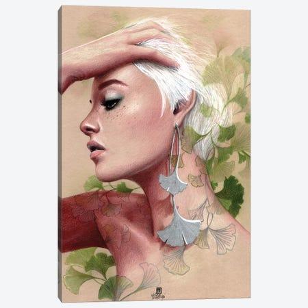 Gingko Canvas Print #MTG28} by Misstigri Art Print