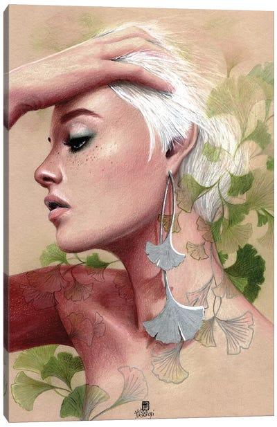 Gingko Canvas Art Print