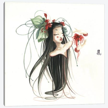 Aerienne I Canvas Print #MTG2} by Misstigri Canvas Print