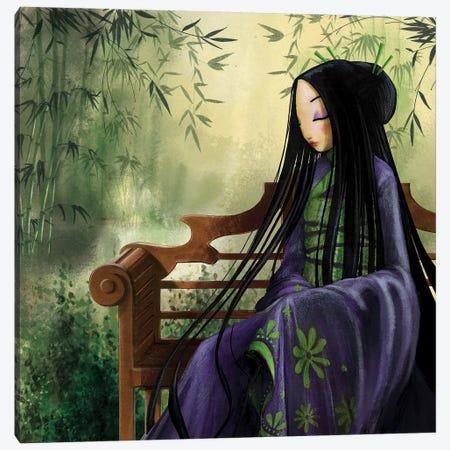 Meditation Canvas Print #MTG43} by Misstigri Art Print
