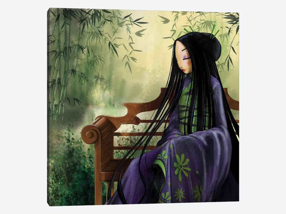 Meditation by Misstigri 1-piece Canvas Print