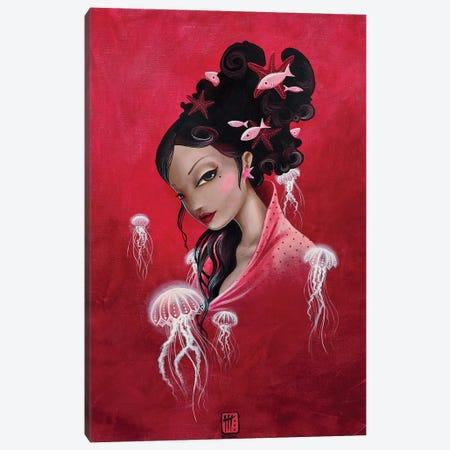 Meduse Canvas Print #MTG44} by Misstigri Canvas Art