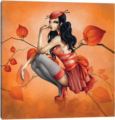 Miss Darling Canvas Art Print