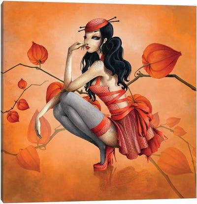 Miss Darling Canvas Art Print