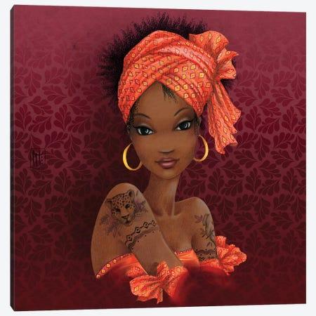 Afrique Canvas Print #MTG4} by Misstigri Canvas Artwork