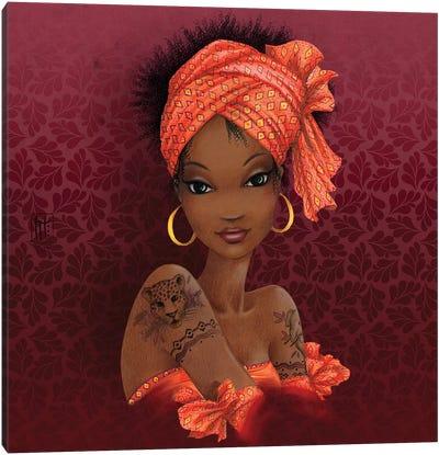 Afrique Canvas Art Print