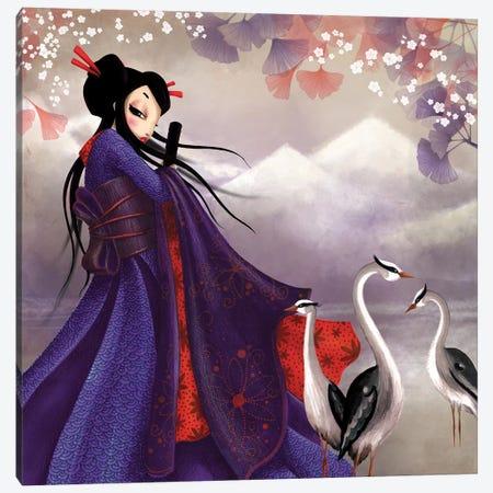 Miss Sakura Canvas Print #MTG53} by Misstigri Canvas Art