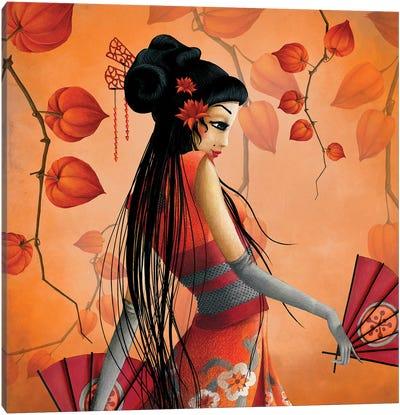 Miss Satsuma Canvas Art Print